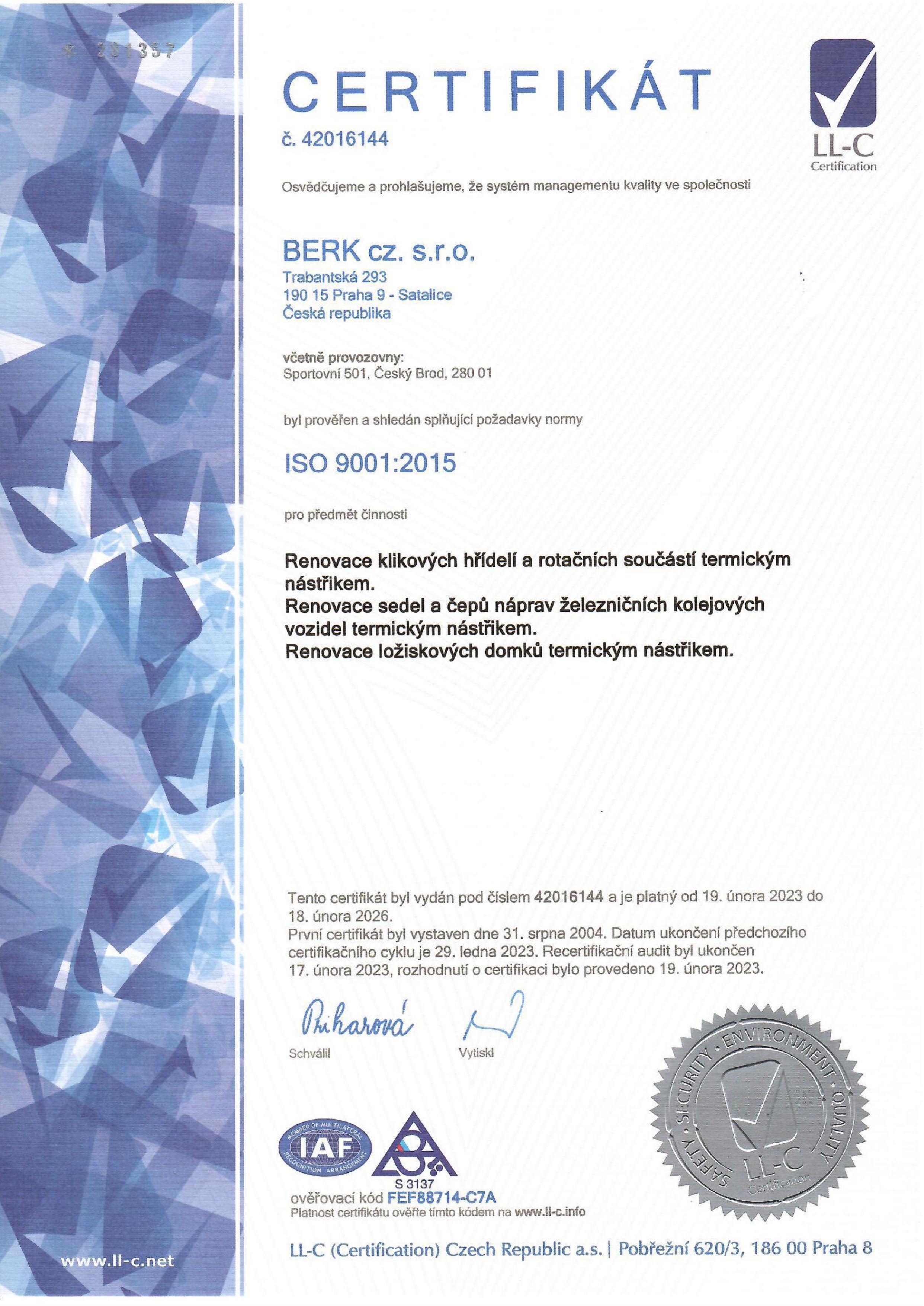 ISO-certifikát-2020-CZ